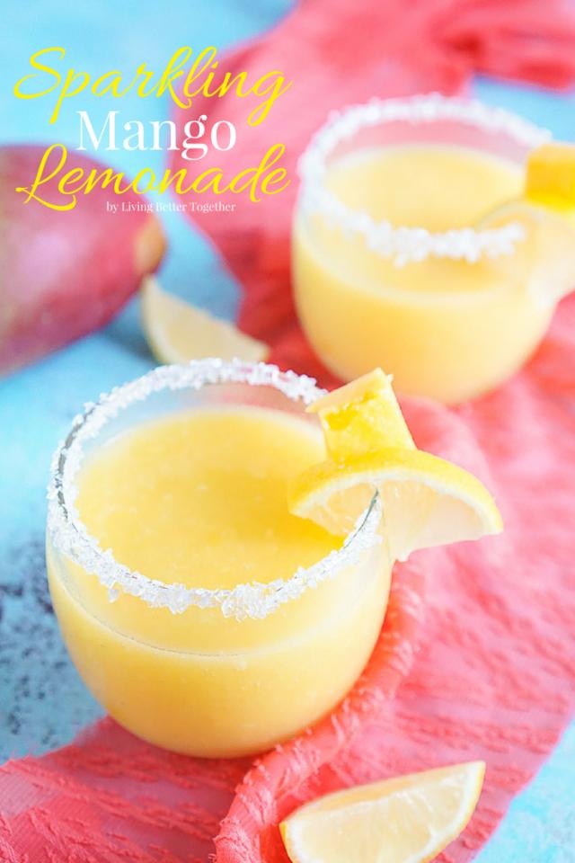 Sparkling-Mango-Lemonade