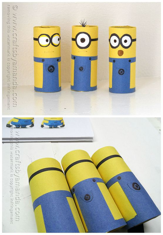 Cool diy minions recycle projects for Cool recycling projects
