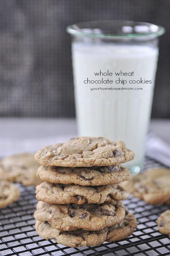 Chocolate Chip Cookies @ yourhomebasedmom.com