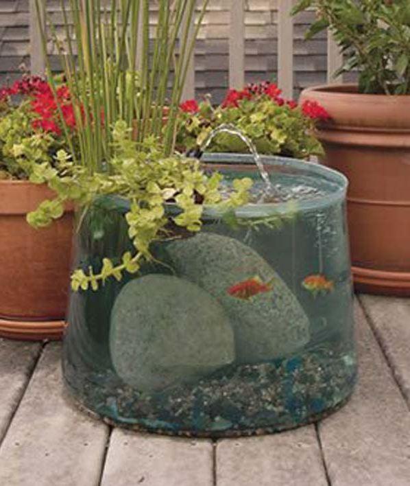 22 Incredible Budget Gardening Ideas: 22 Small Garden Or Backyard Aquarium Ideas Will Blow Your Mind