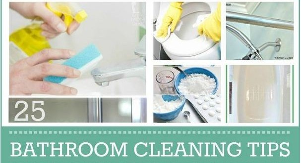 Awesome everyday bathroom cleaning tips for Bathroom cleaning ideas