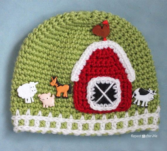 16-DIY-Chunky-Crochet-Infinity-Scarf