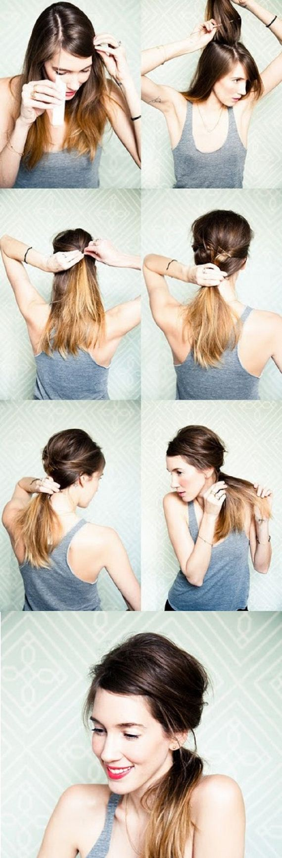 10-Fashionable-Ponytail-Tutorials