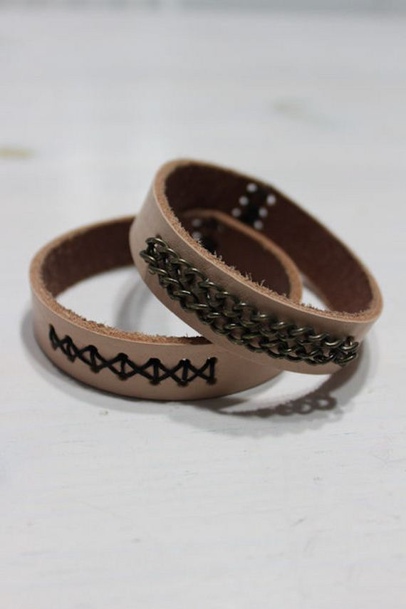 11-Leather-Bracelet-Tutorials