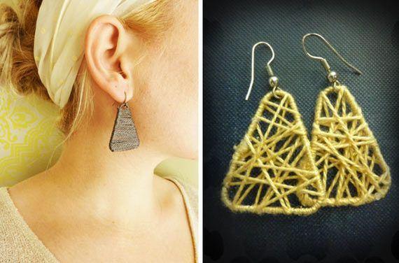 32-Beautiful-Earring-DIY-Ideas