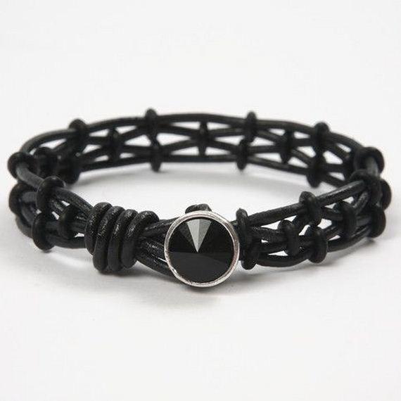 35-Leather-Bracelet-Tutorials