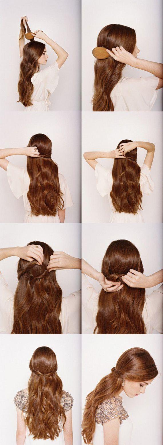 фото волос легкие прически на длинный