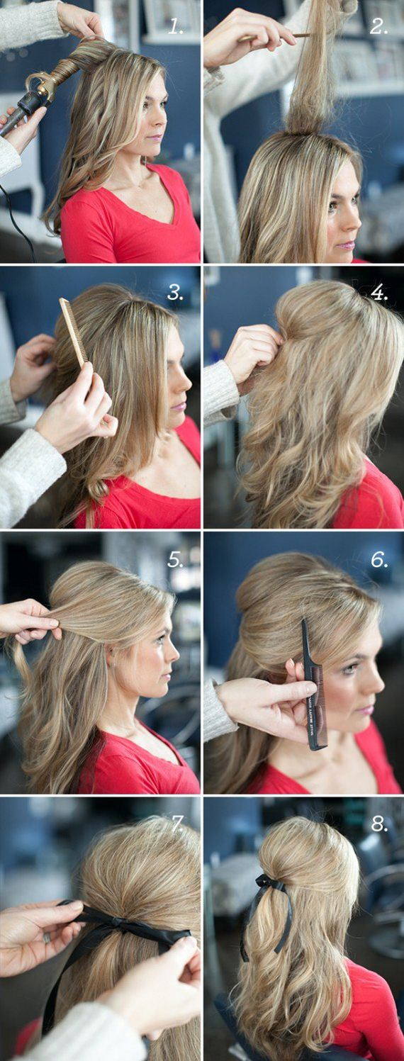 Prom Hairstyles For Long Hair Diy : Diy hairstyles for long hair easy