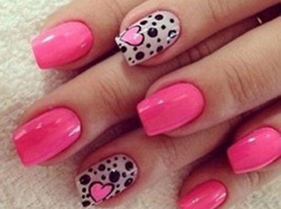 02-pink-nail-art