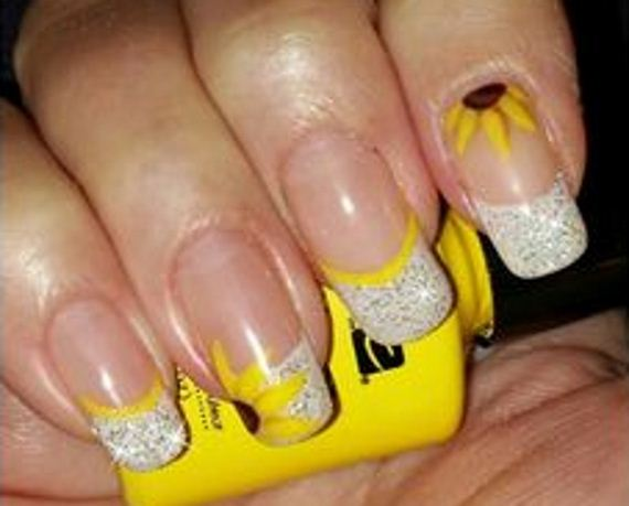11-sunflower-nail-designs