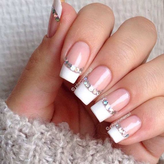12-French-Tip-Nails
