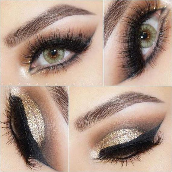 Pretty Eye Makeup Looks for Green Eyes