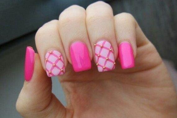 13-pink-nail-art