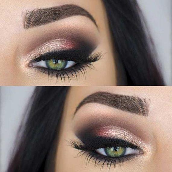 green eyes makeup - photo #6