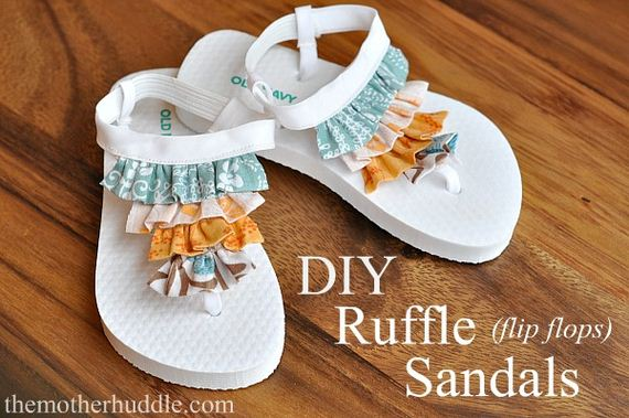 01-Diy-Ruffle-flip-flops-Sandals