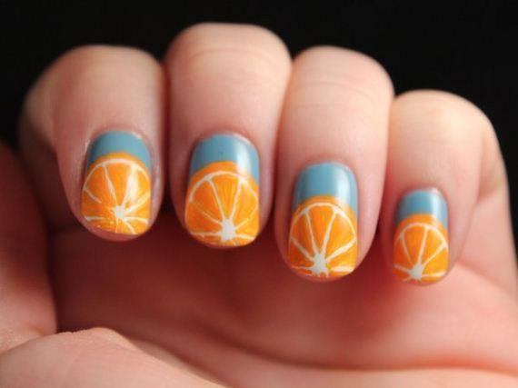 02-orange-nail-art
