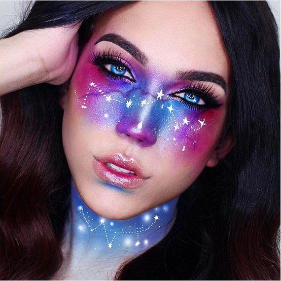 04-Galaxy-Makeup-Ideas