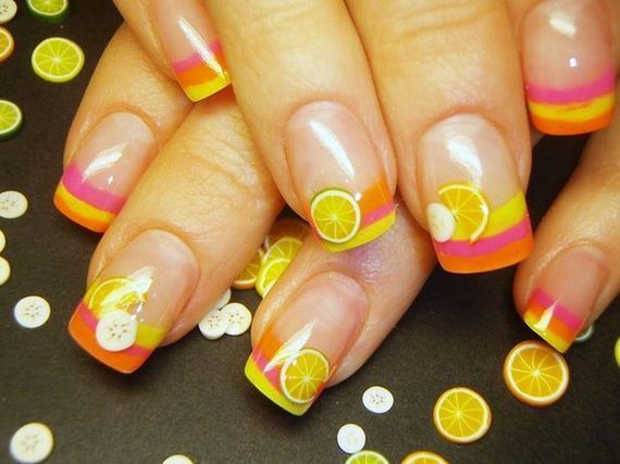 07-orange-nail-art