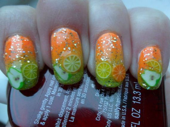 08-orange-nail-art