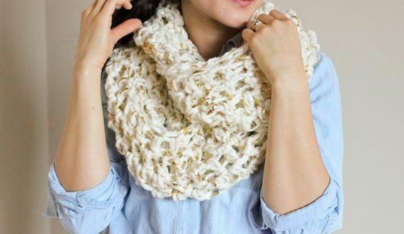 Crochet Infinity Scarf Tutorial For Beginners : Awesome Crochet Infinity Scarf Tutorials