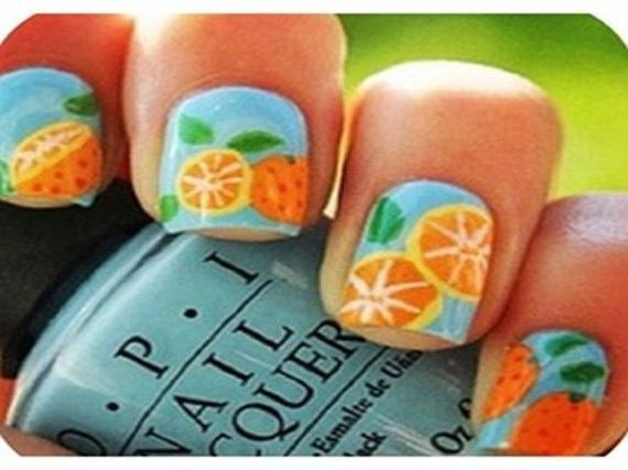 09-orange-nail-art