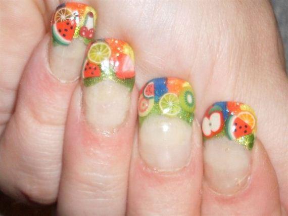 10-orange-nail-art