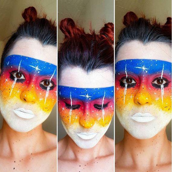 11-Galaxy-Makeup-Ideas