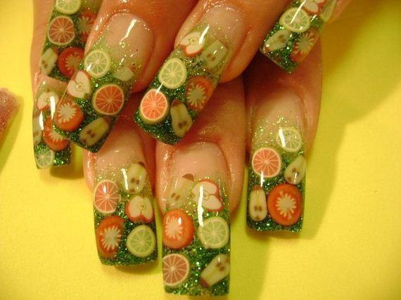 11-orange-nail-art