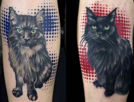 03-black-cat-tattoo-design