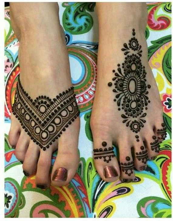 Cool Women Foot Tattoo Designs 12thblog