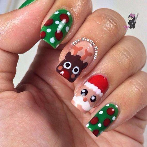 Cute Christmas Nail Art: Awesome Christmas Nail Art DIY Ideas