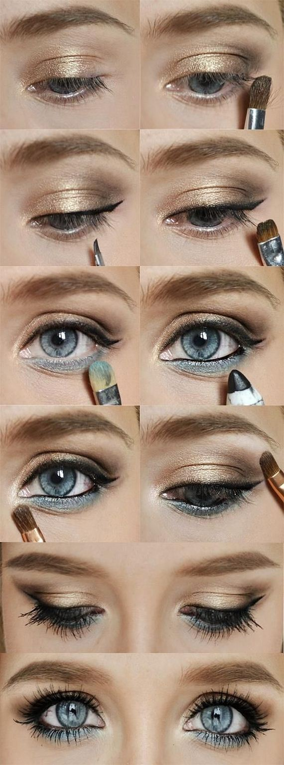 How To Apply Eyeshadow Via How To Wear Basic Eyeshadow How To Apply  Eyeshadow Pic Solution