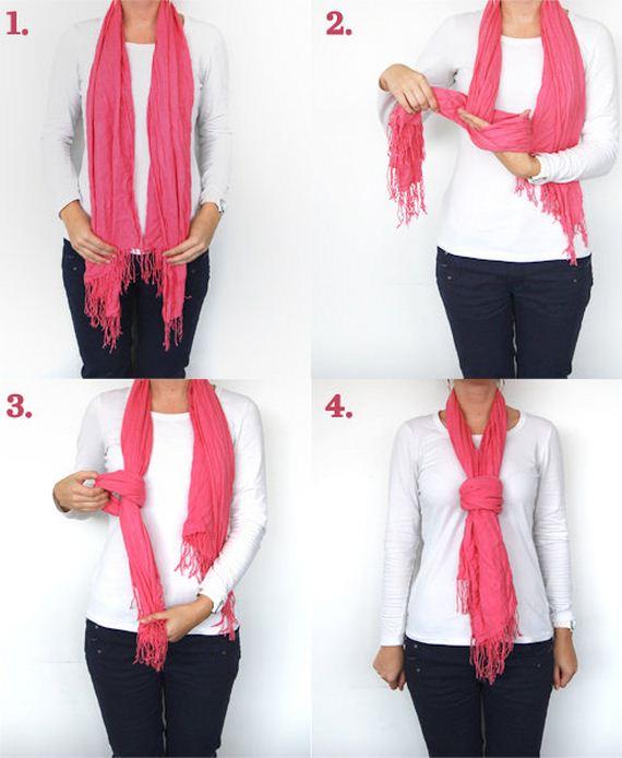 amazing ways to tie a scarf