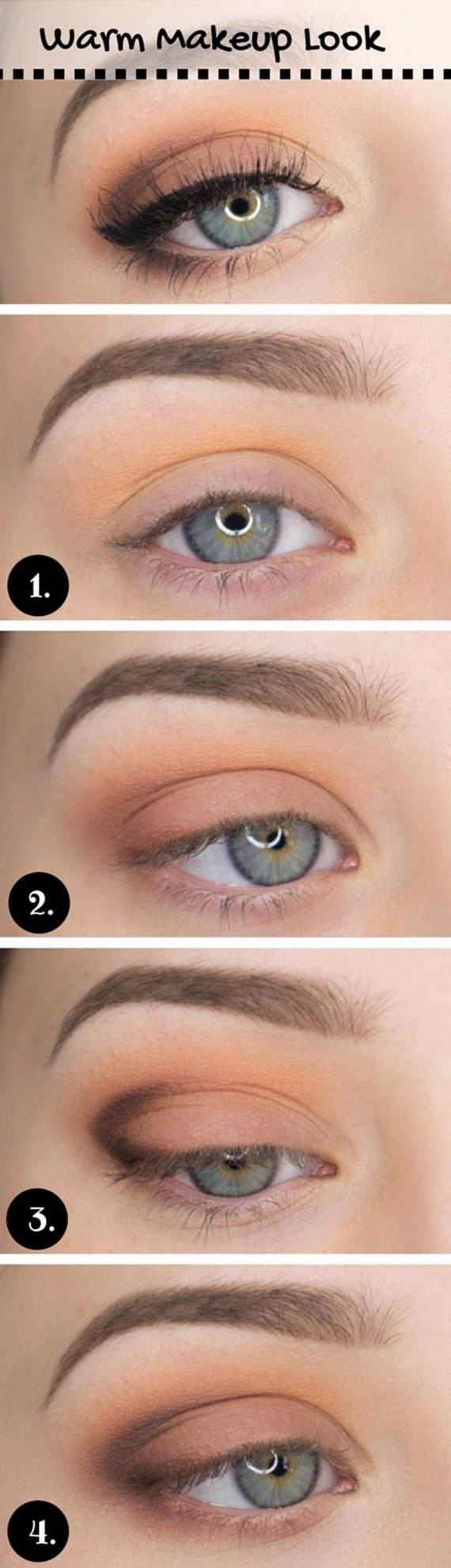 How To Apply Eyeshadow Step By Step Pictures Solution For How To