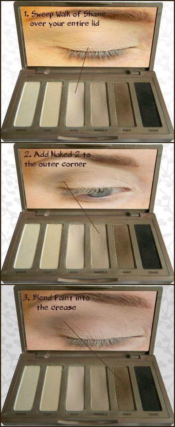 Everyday Makeup Tips How To Apply Eyeshadow Via