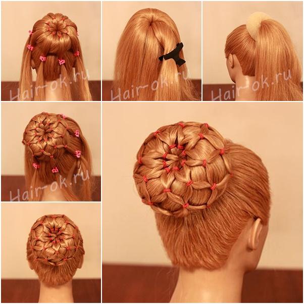 Diy Updos: DIY Easy Sock Bun Updo Hairstyle