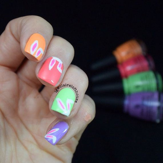 Easy Easter Nail Art: Cool Easter Nail Art Designs