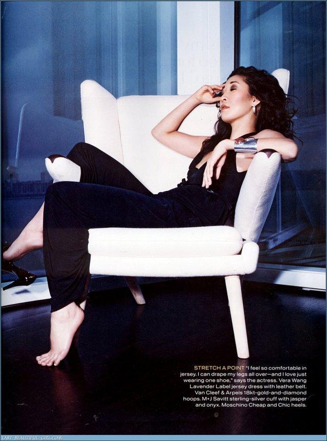 Greys Anatomy Promotional Photoshoots - Sandra Oh Photo