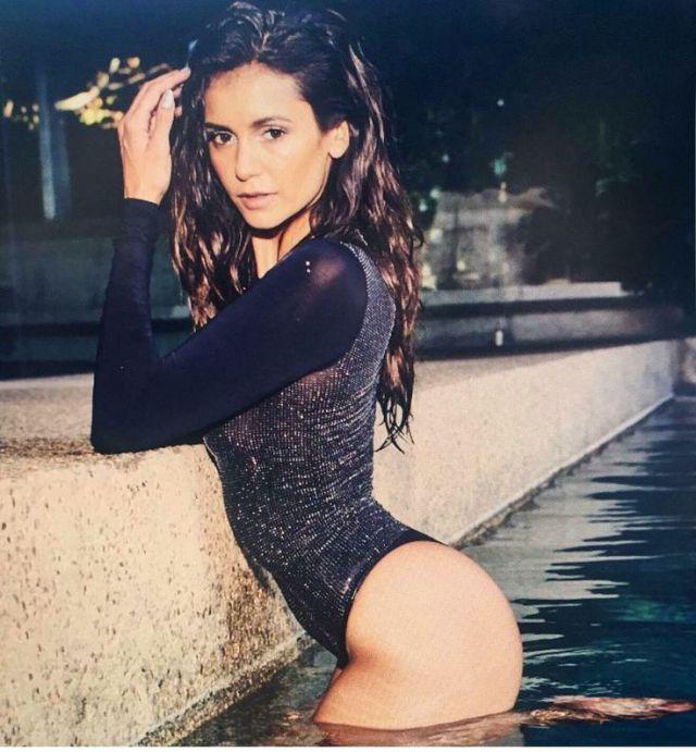 Really. Nina dobrev bikini pics
