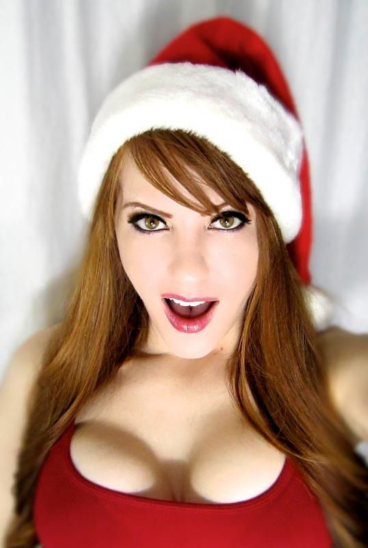 Against redhead christmas, perfect naked girl paint