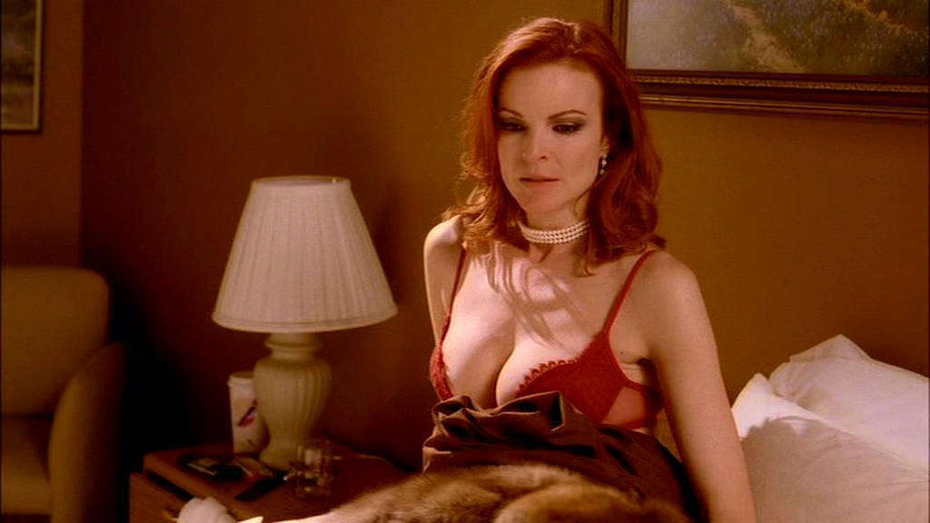 Naked marcia cross in melrose place ancensored