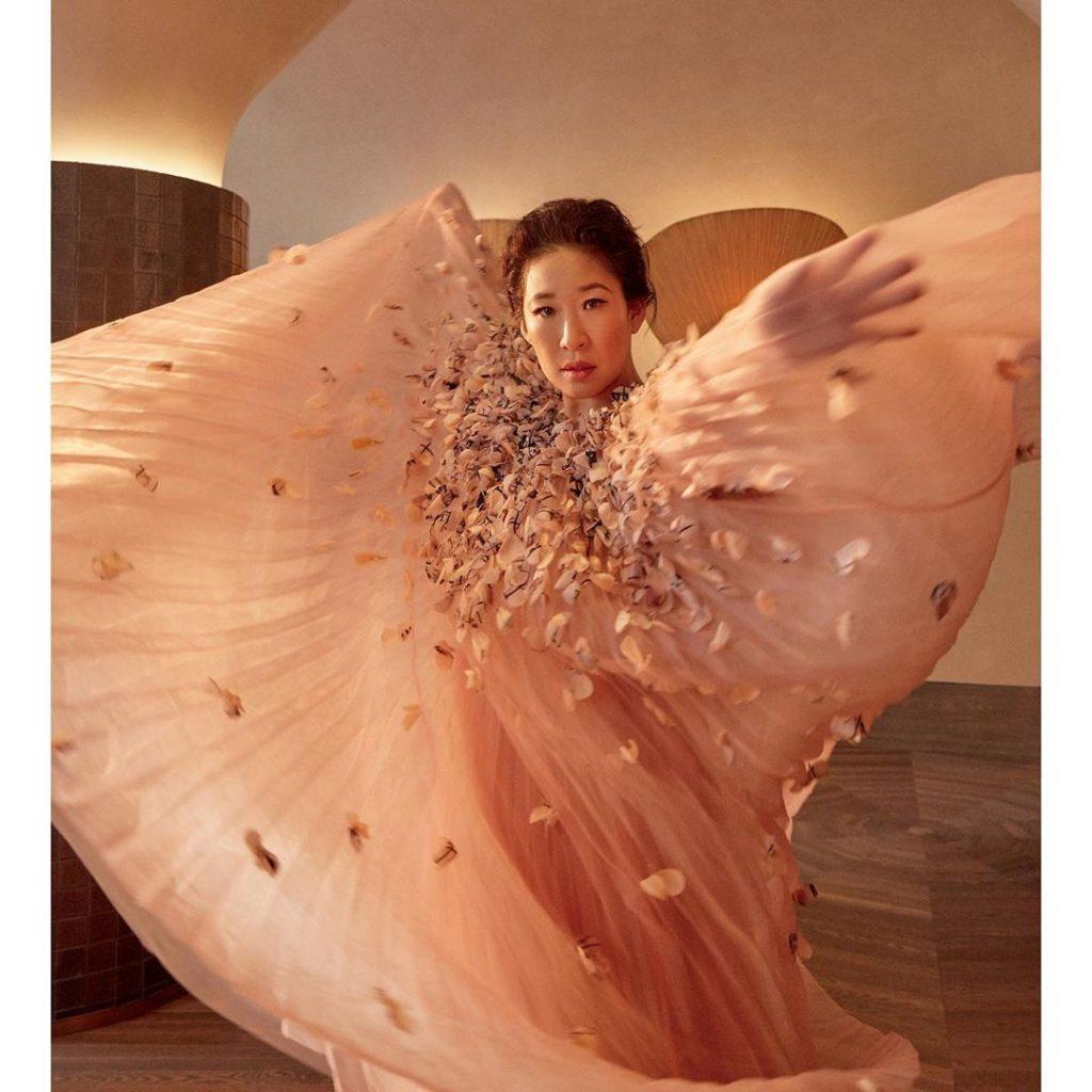 Самые горячие фотографии Sandra Oh в сети