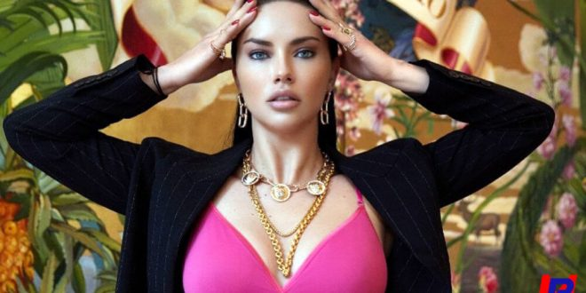 50 Sexy Almost Nude Adriana Lima Photos
