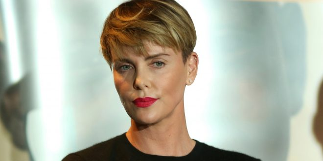 The Hottest Almost Naked Charlize Theron Photos